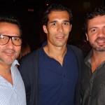 Eu com Corradi e Marcelo Espindola