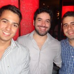 Ruan Nunes, Thiago Almeida e Arthur Miranda
