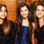 Camila Carvalho, Milena Vieira, Luana Castanheira