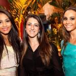 Carolina Albuquerque, Luana Castanheira e Luciana Moraes