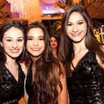 Clara Sampaio, Érica França e Bruna Ramos