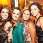 Mariana Decat, Mariana Ferreira, Fabiana Paes Leme e Daniele Caria