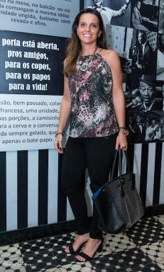 Renata Scisinio Dias Look total - Zara