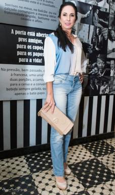 Michele Micheloni Blusa e calça - Folic Sandália - Alessandra Miranda Bolsa - Carmen Steffens