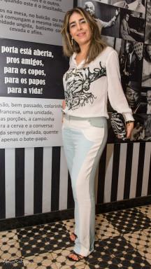 Rebeca Levy Blusa e calça - Tempo 4 Sandália - Comprada em Nova York Bolsa - BB Nova York Joias - Márcia Mor
