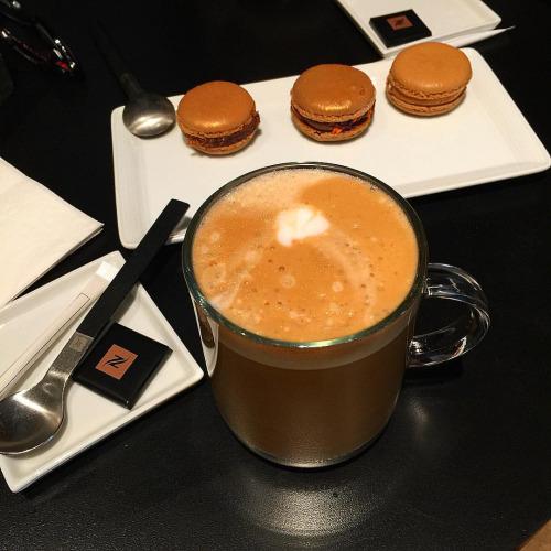 nespresso e chocolate