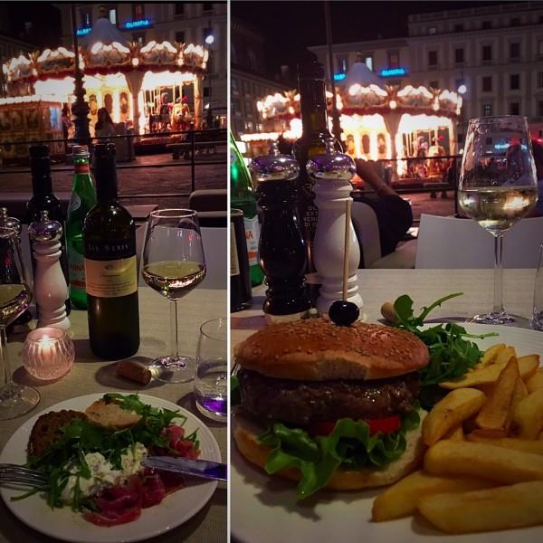 Um dos mais famosos café de Florença. Lugar agradável com bela vista para a belíssima Piazza della Repubblica. Ideal para uma noite romântica. Musica ao vivo de ótima qualidade.