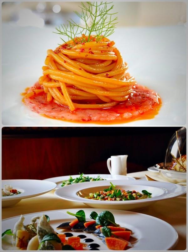 Este romântico e panorâmico restaurante oferece aos clientes uma das paisagens mais exclusivas de Veneza. Com um cardápio refinado e gourmet, tradicional mediterrâneo. Frequentado por gente chique e bonita.