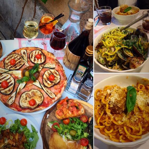 Profissionalismo e simpatia caracterizam todos os funcionários, deste restaurante. Um jantar para complementar um delicioso passeio por Trastevere no fim da tarde, bairro que voçê não pode deixar de ir.