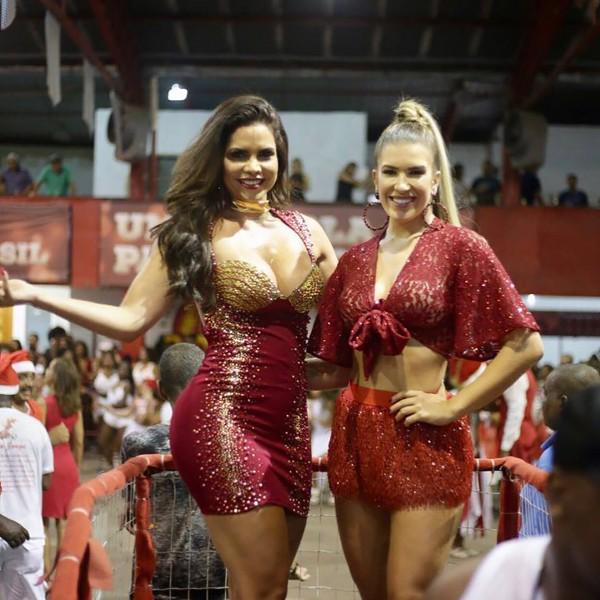 Lorena Improta e Raissa Machado