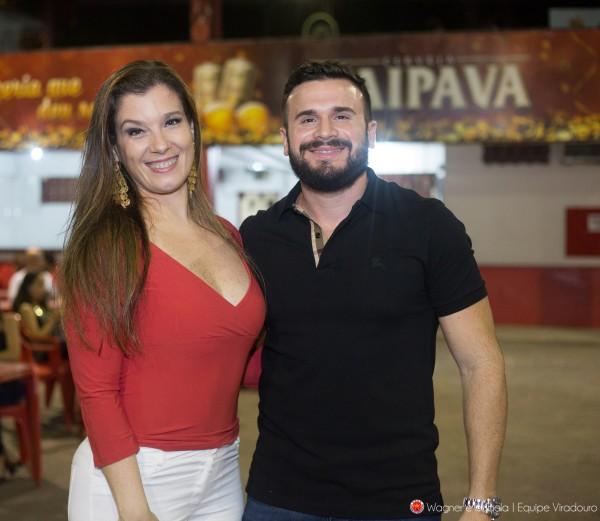 Marcelo Calil e Susie Monassa