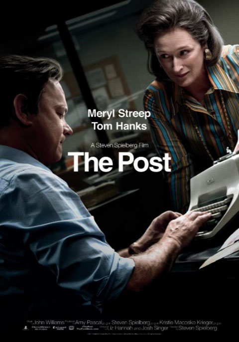 Filme The Post, estrelado por Meryl Streep e Tom Hanks.