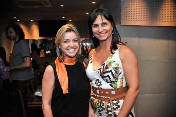 Mariane Thamsten e Ana Paula Guillera
