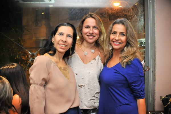 Fernanda Leal, Luiza Caiado e  Jurema Coelho