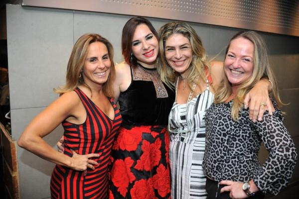 Marcia Miranda, Silvia Failace, Rebeca Levi e Erika Figueiredo